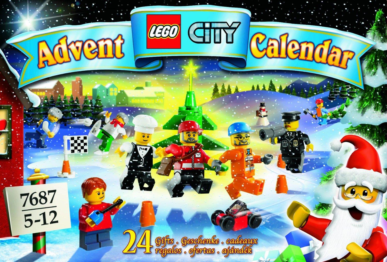 Calendrier City.7687 Le Calendrier De L Avent City 2009